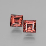 thumb image of 1.9ct Square Facet Pinkish Rose Rhodolite Garnet (ID: 431707)
