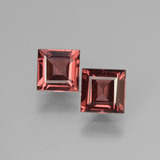 thumb image of 1.5ct Square Facet Pinkish Rose Rhodolite Garnet (ID: 431708)