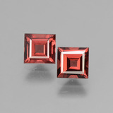 thumb image of 1.6ct Square Facet Pinkish Rose Rhodolite Garnet (ID: 431709)