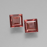 thumb image of 1.4ct Square Facet Pinkish Rose Rhodolite Garnet (ID: 431746)