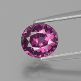 thumb image of 1.3ct Oval Facet Pinkish Rose Rhodolite Garnet (ID: 438333)