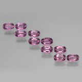 thumb image of 2.9ct Oval Facet Pinkish Rose Rhodolite Garnet (ID: 439421)