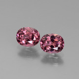 thumb image of 1.4ct Oval Facet Pinkish Rose Rhodolite Garnet (ID: 440581)