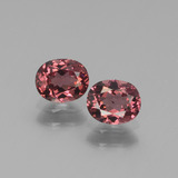 thumb image of 1.3ct Oval Facet Pinkish Rose Rhodolite Garnet (ID: 440660)