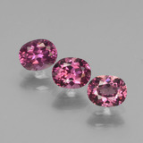 thumb image of 1.5ct Oval Facet Pinkish Rose Rhodolite Garnet (ID: 440666)