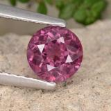 thumb image of 0.8ct Round Facet Pinkish Rose Rhodolite Garnet (ID: 440782)