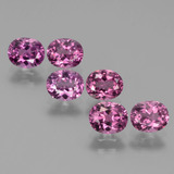thumb image of 3.8ct Oval Facet Pinkish Rose Rhodolite Garnet (ID: 441073)