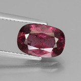 thumb image of 2.9ct Cushion-Cut Pinkish Rose Rhodolite Garnet (ID: 441309)