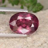 thumb image of 2.1ct Oval Facet Pinkish Rose Rhodolite Garnet (ID: 441311)