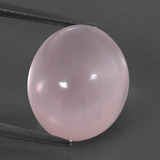 thumb image of 11ct Oval Cabochon Pink Rose Quartz (ID: 332960)
