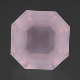 thumb image of 18.6ct Asscher Cut Pink Rose Quartz (ID: 393320)