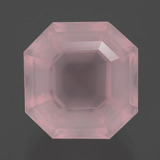 thumb image of 9.5ct Asscher Cut Pink Rose Quartz (ID: 393411)