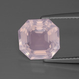 thumb image of 4.3ct Asscher Cut Pink Rose Quartz (ID: 393536)