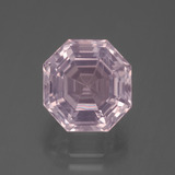 thumb image of 6.3ct Asscher Cut Pink Rose Quartz (ID: 393621)