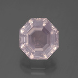 thumb image of 5.7ct Asscher Cut Pink Rose Quartz (ID: 393625)