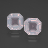 thumb image of 5.4ct Asscher Cut Pink Rose Quartz (ID: 394337)