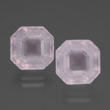 thumb image of 8.1ct Asscher Cut Pink Rose Quartz (ID: 394438)