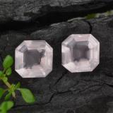 thumb image of 3.7ct Asscher Cut Pink Rose Quartz (ID: 394572)