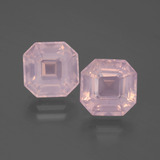 thumb image of 6.9ct Asscher Cut Pink Rose Quartz (ID: 394726)