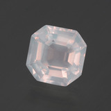 thumb image of 2ct Asscher Cut Pink Rose Quartz (ID: 395338)