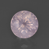 thumb image of 3.4ct Round Petal Cut Pink Rose Quartz (ID: 400765)