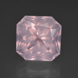 thumb image of 7.8ct Octagon / Scissor Cut Pink Rose Quartz (ID: 414596)