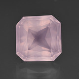 thumb image of 7.9ct Octagon / Scissor Cut Pink Rose Quartz (ID: 414598)