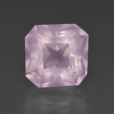 thumb image of 6.9ct Octagon / Scissor Cut Pink Rose Quartz (ID: 414601)