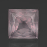 thumb image of 9.8ct Princess-Cut Pink Rose Quartz (ID: 414698)