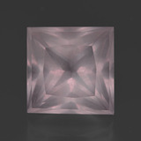 thumb image of 10.8ct Princess-Cut Pink Rose Quartz (ID: 414699)