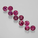 thumb image of 1.8ct Round Facet Pink Red Ruby (ID: 399343)