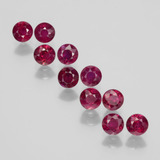 thumb image of 2.6ct Round Facet Pink Red Ruby (ID: 399351)