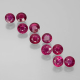 thumb image of 1.9ct Round Facet Pink Red Ruby (ID: 399369)