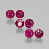 thumb image of 1.7ct Round Facet Pink Red Ruby (ID: 399436)