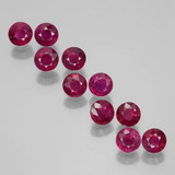 thumb image of 3ct Round Facet Pink Red Ruby (ID: 399447)