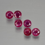 thumb image of 1.5ct Round Facet Pink Red Ruby (ID: 399480)