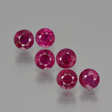 thumb image of 1.7ct Round Facet Pink Red Ruby (ID: 399482)