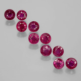 thumb image of 2.8ct Round Facet Pink Red Ruby (ID: 399500)
