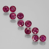 thumb image of 2.7ct Round Facet Pink Red Ruby (ID: 399504)