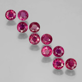 thumb image of 2.4ct Round Facet Pink Red Ruby (ID: 399508)