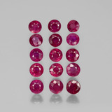 thumb image of 5ct Round Facet Pink Red Ruby (ID: 399514)