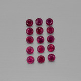 thumb image of 2ct Diamond-Cut Pink Red Ruby (ID: 402081)