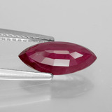 2.14 ct Marquise Facet Pink Red Ruby Gem 12.26 mm x 5.8 mm (Photo C)