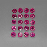 thumb image of 4.7ct Round Facet Pink Red Ruby (ID: 415264)