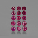 thumb image of 4.2ct Round Facet Pink Red Ruby (ID: 415270)