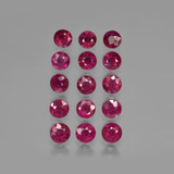 thumb image of 4.3ct Round Facet Pink Red Ruby (ID: 415271)