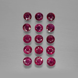 thumb image of 3ct Round Facet Pink Red Ruby (ID: 415272)