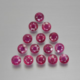 thumb image of 4.1ct Round Facet Pink Red Ruby (ID: 415489)