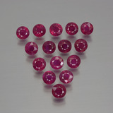 thumb image of 4.3ct Round Facet Pink Red Ruby (ID: 415490)