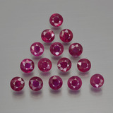 thumb image of 4.5ct Round Facet Pink Red Ruby (ID: 415493)